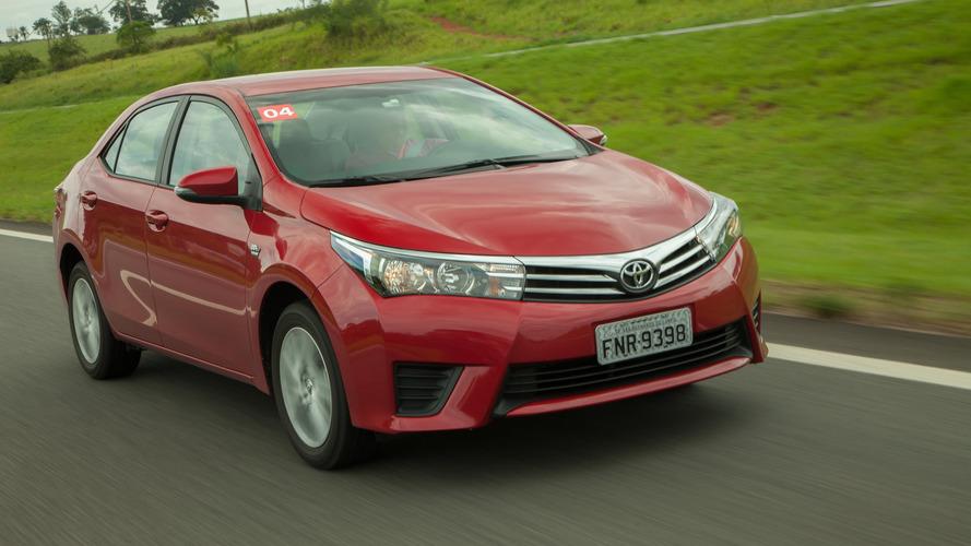 Sedãs médios – Dominante, Corolla vende mais do que Civic, Cruze e Jetta somados