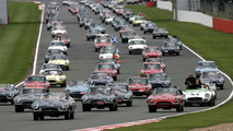 767 Jaguar E-types set record at Silverstone Classic