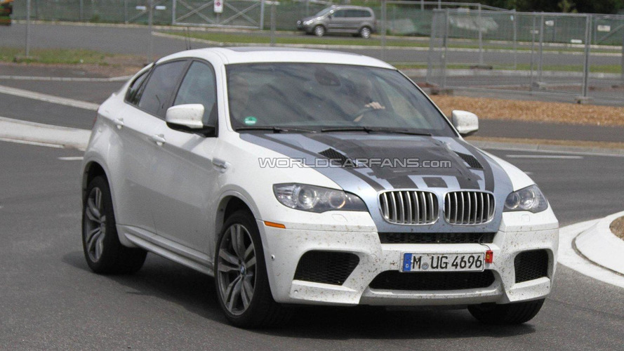 Hotter BMW X6 M special edition spied for first time