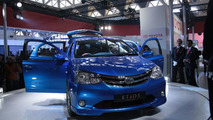 Toyota Etios Concept hatchback live at 2010 New Delhi Auto Expo - 1200 - 05.01.2010