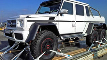 Three-axle Mercedes-Benz G63 AMG V8 Biturbo / AutoBild.de