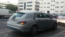 Mercedes-Benz CLA Shooting Brake spied testing in Dubai