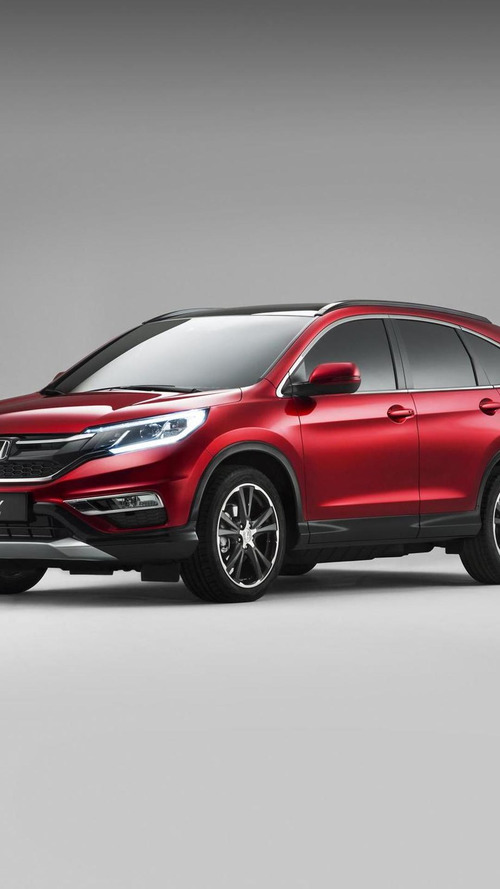 Honda introduces Euro-spec CR-V facelift with 160 HP 1.6-liter diesel engine