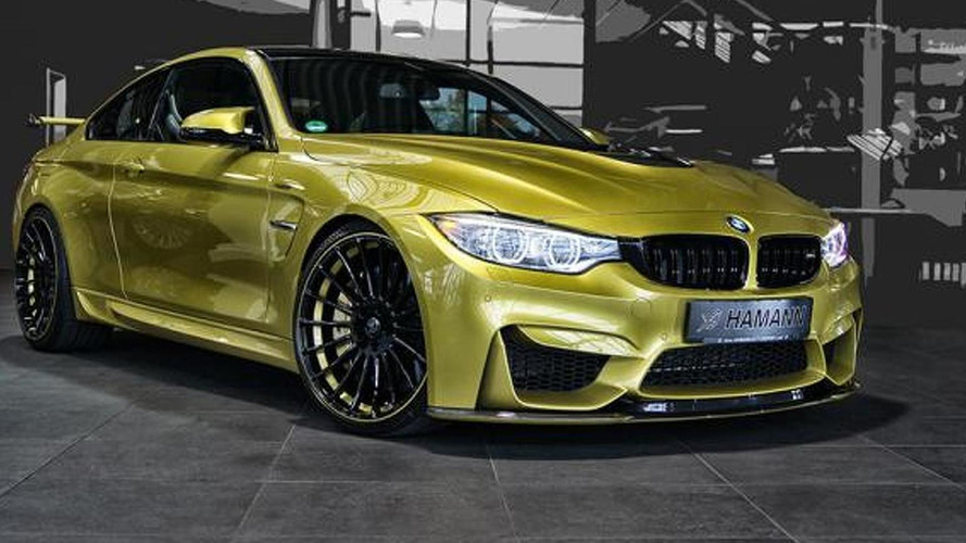 Hamann previews their tuning program for the BMW M4 Coupe