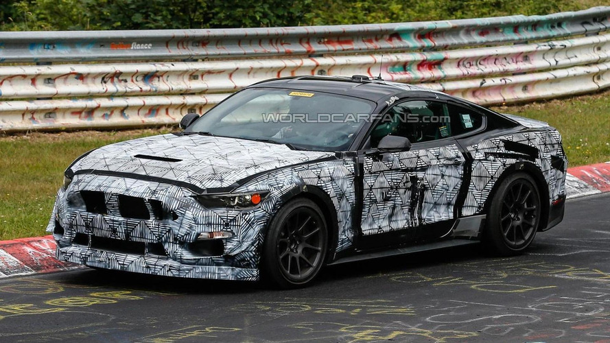 2016 Ford Mustang SVT spied 'Ring testing once again