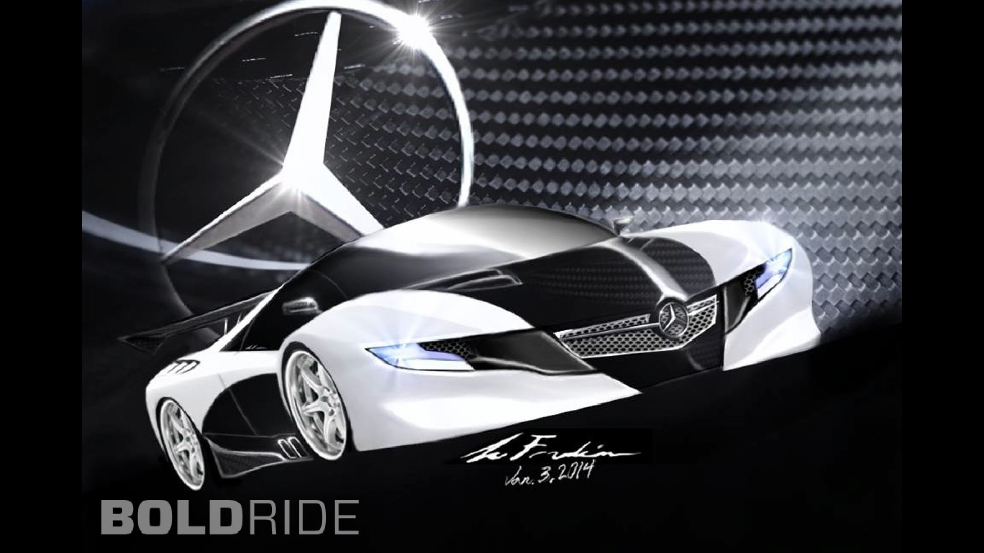 Mercedes-Benz SLS-S77 Concept by Sylvester Franklin