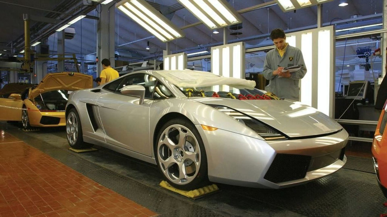 Lamborghini Gallardo Assembly Line