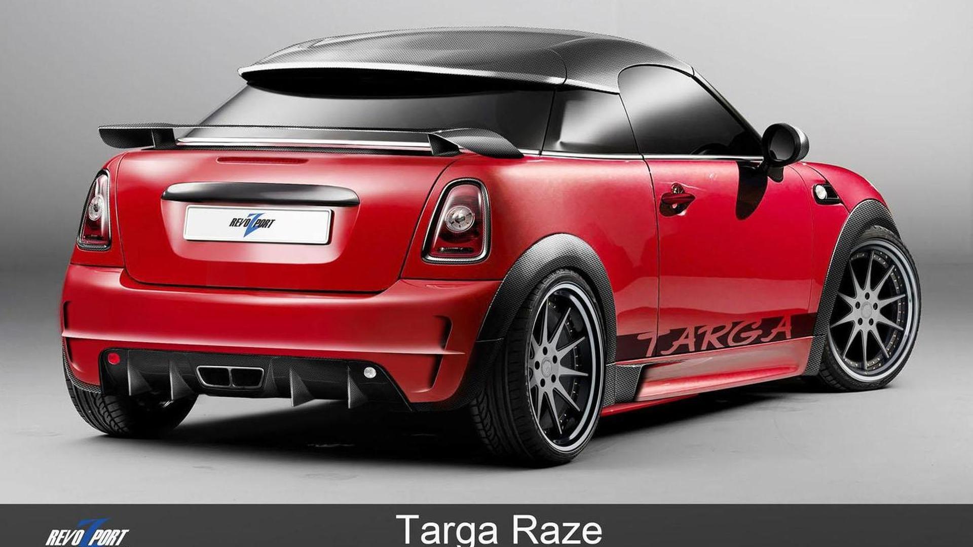 RevoZport MINI Coupe Targa Raze revealed