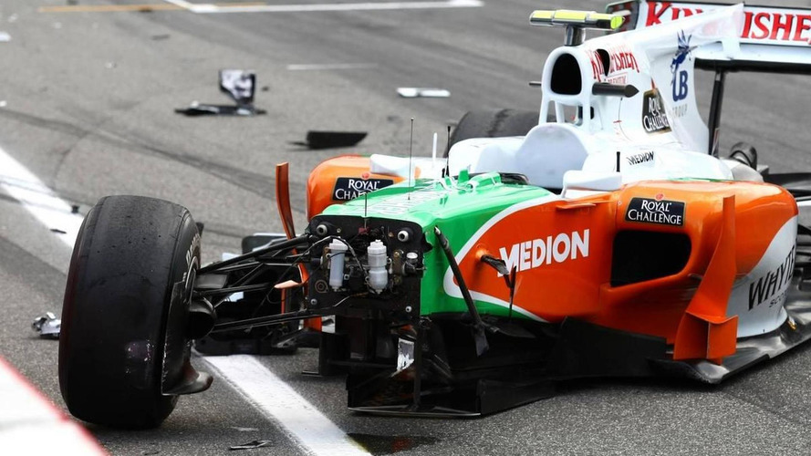 F1 moves to stop wheels flying after crashes