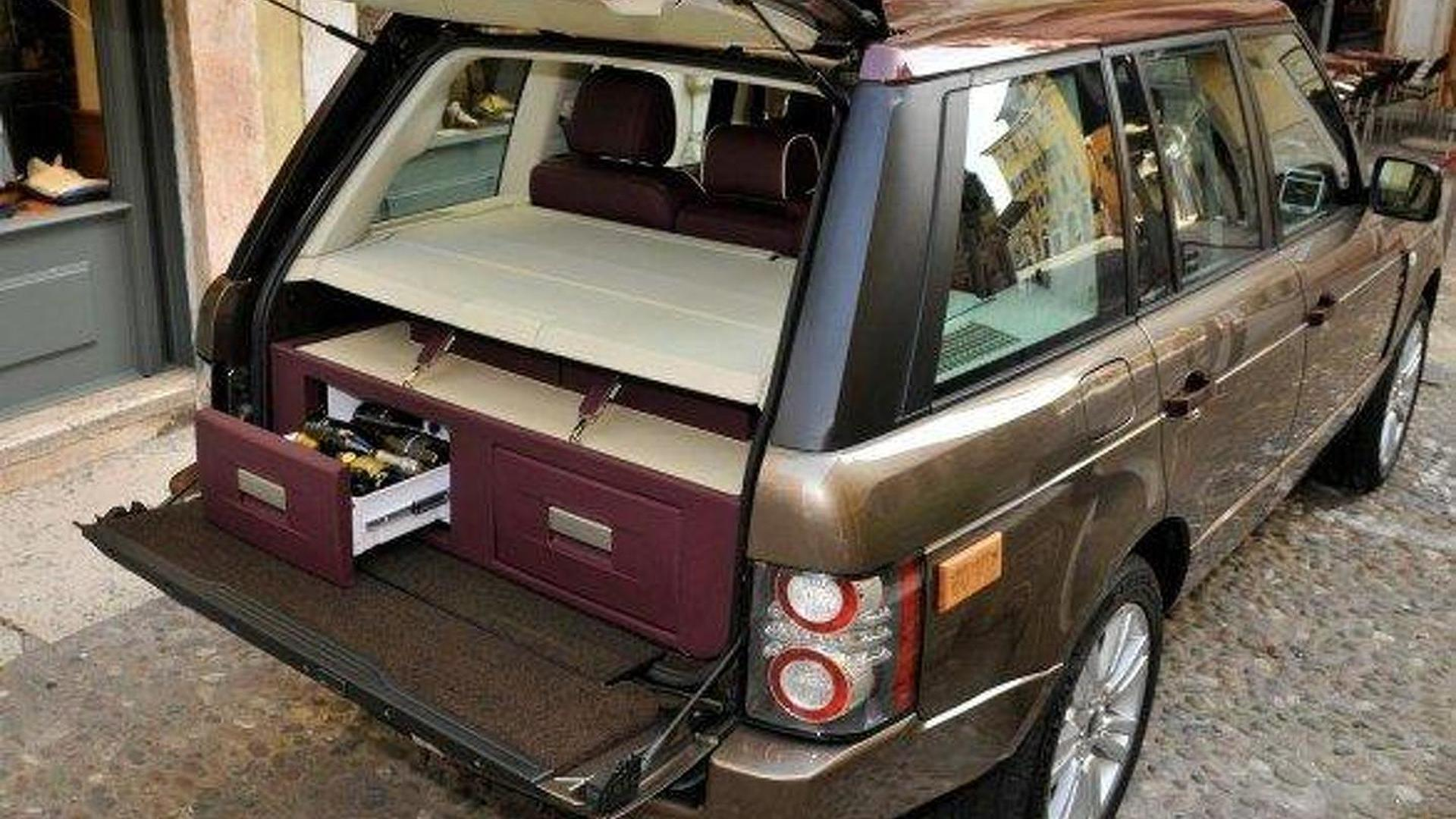 Range Rover Spirito DiVino – an SUV with an embedded wine bar [video]