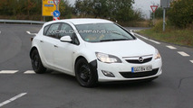 Mystery Opel Mule Spied with Enlarged New Astra Body - Possible 2012 Zafira?