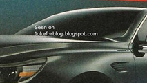 De Tomaso SLC teasers images surface - debut in Geneva?