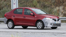 Unknown Dacia Logan prototype spied, could be the Prestige version