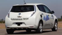 Nissan Leaf prototype with Autonomous Drive technology 27.8.2013