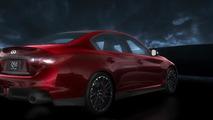 2014 Infiniti Q50 Eau Rouge concept screenshot