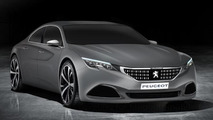 Peugeot Exalt concept rendered in production clothing