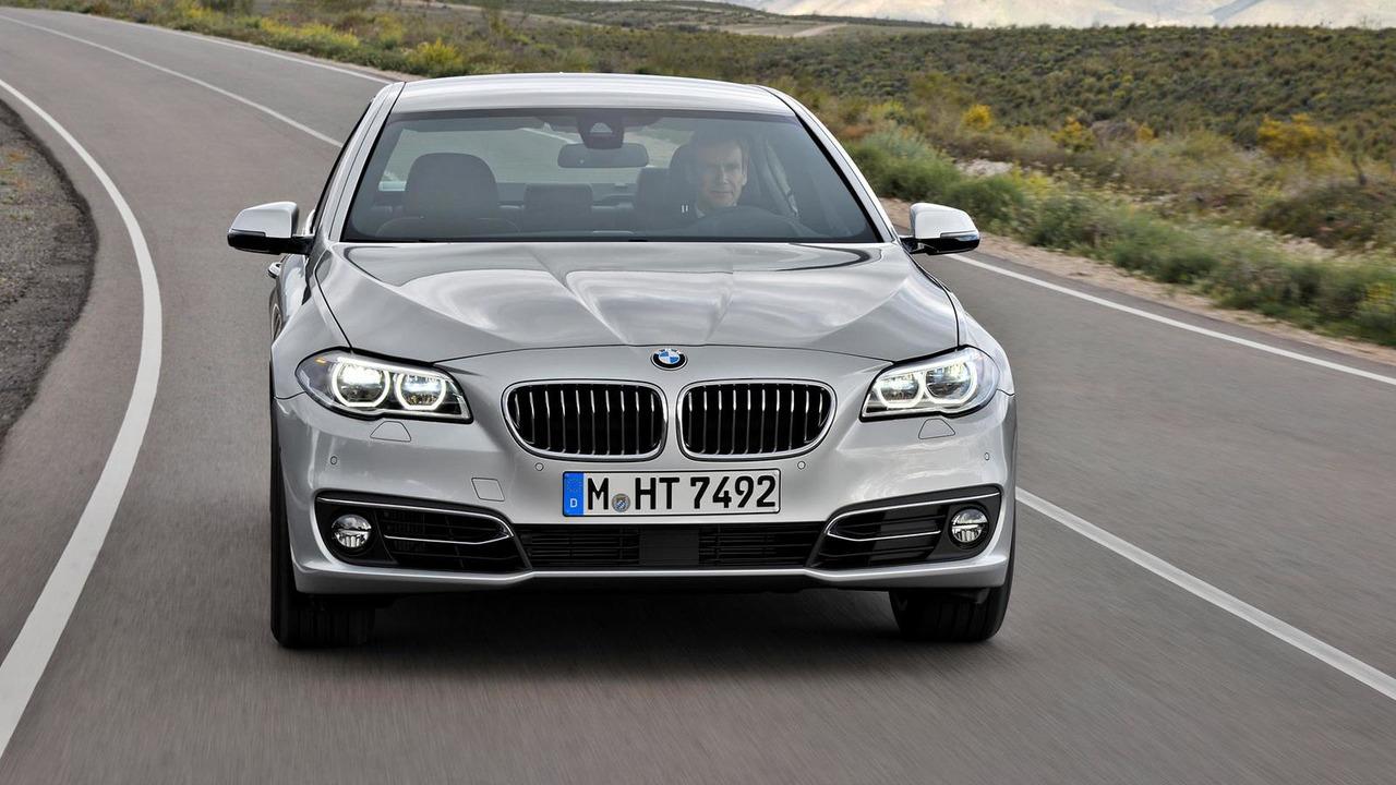 2014 BMW 5-Series Luxury Line facelift 09.10.2013