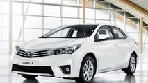 2014 Toyota Corolla (Euro-spec) debuts on video