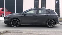 Mercedes-Benz GLA 45 AMG spied near Nurburgring