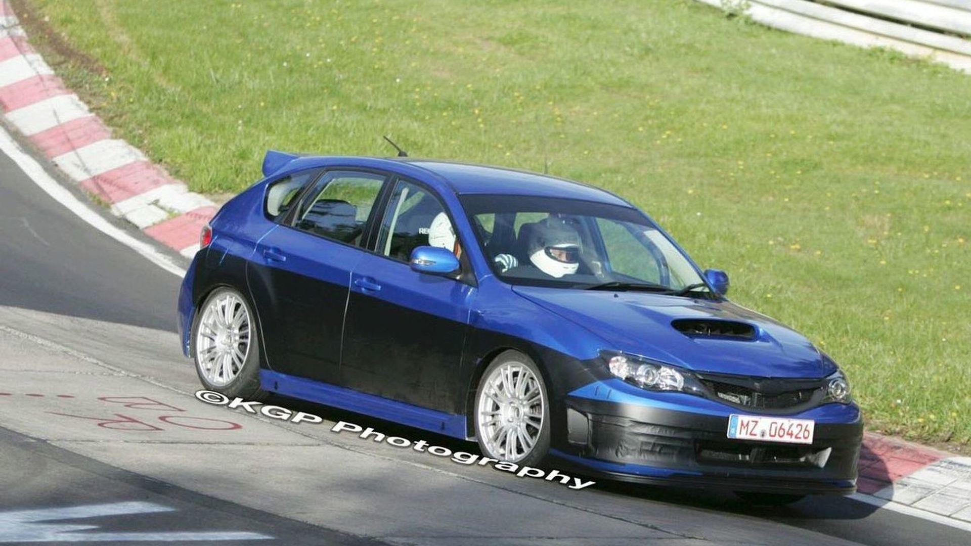 Subaru WRX STi Caught Undisguised