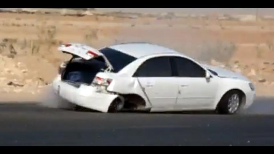 Drift Árabe: Vídeos mostram acidentes em práticas de drift na Árabia Saudita