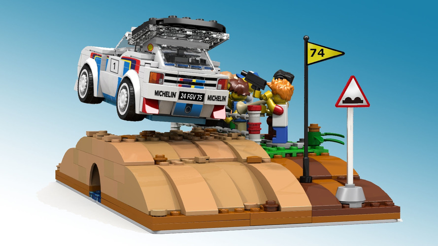 Lego Peugeot 205 T16 Rally Car Proposal Is Already A