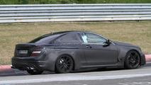 2012 Mercedes C63 AMG Black Series spied on ring 19.05.2011
