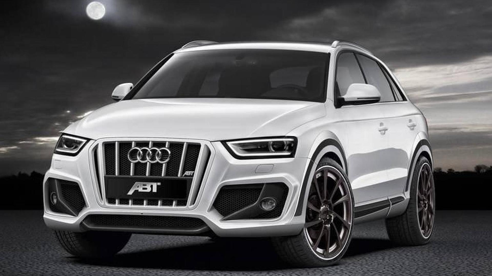ABT Sportsline previews its Audi Q3