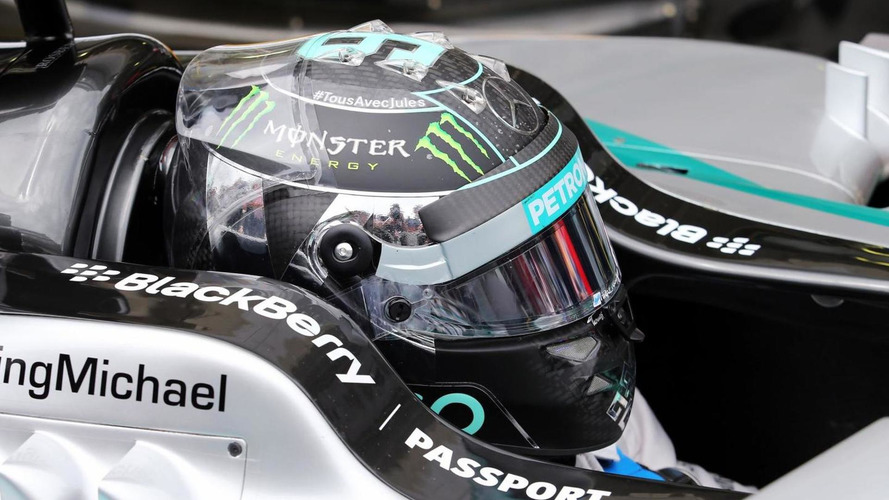 Rosberg wins one trophy but eyes another