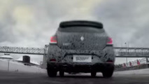 Renault Sandero RS screenshot from teaser video