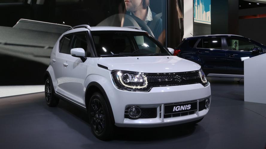 Opération séduction pour la Suzuki Ignis à Paris