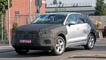 Volkswagen Touareg Spy Photos