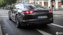 Porsche Panamera Turbo spotted