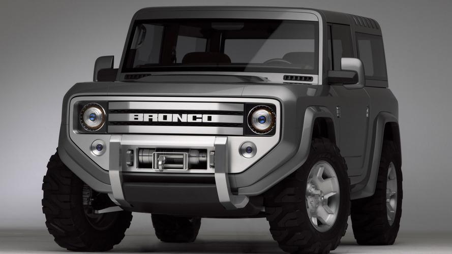 2004 Ford Bronco concept