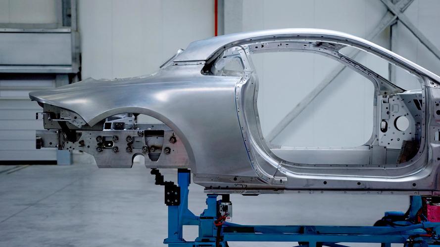 Alpine teases A120's curvaceous aluminum body