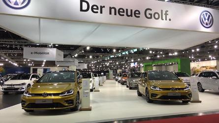 2017 VW Golf, Skoda Octavia, SEAT Leon at Vienna Auto Show