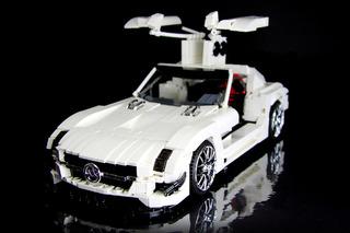 Lego SLS AMG GT3 is an Impressive Home-Built Creation