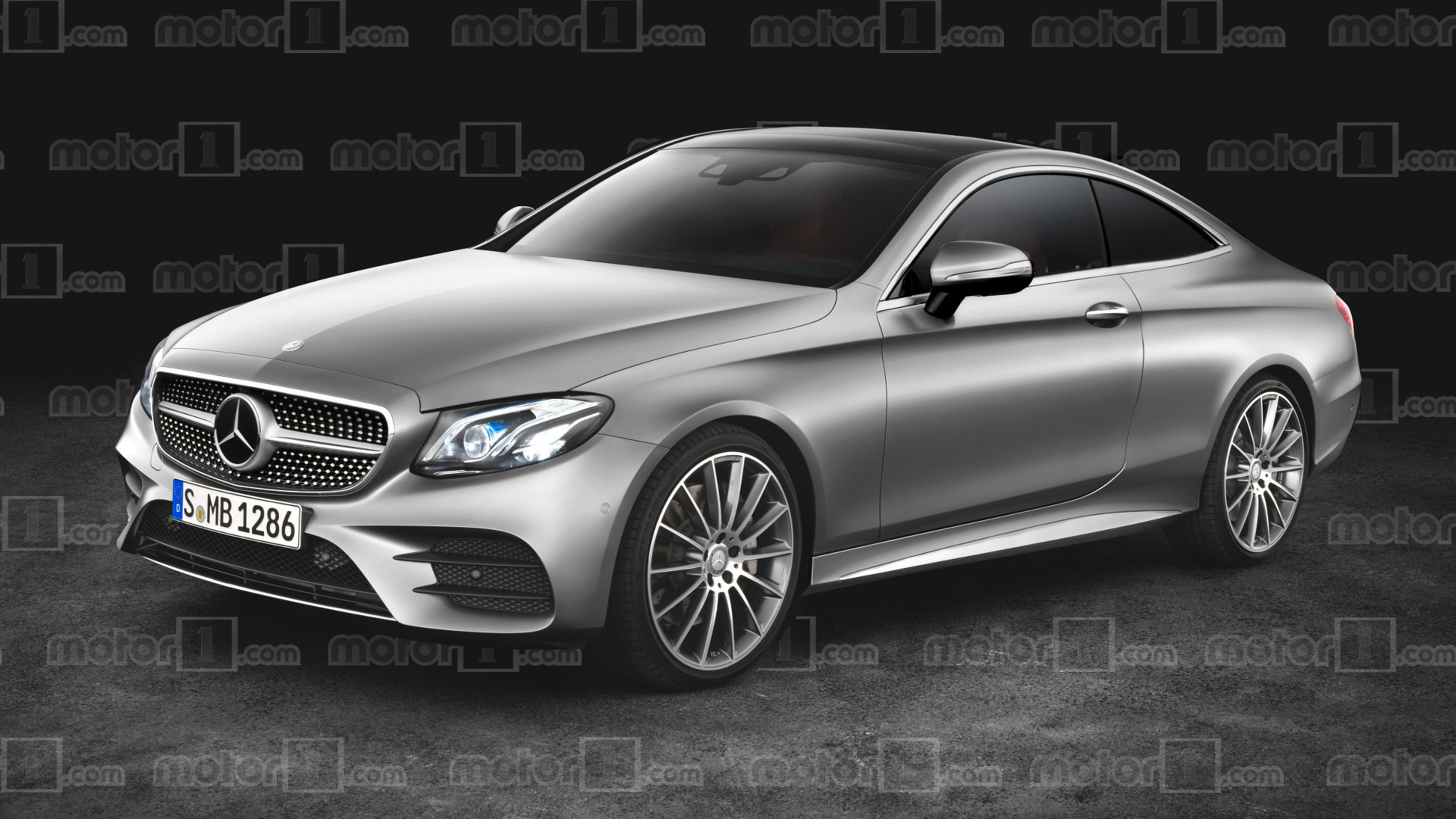 2018 mercedes e class coupe gets rendered. Black Bedroom Furniture Sets. Home Design Ideas