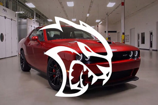 Watch The First Dodge Challenger Hellcat Come To Life