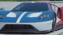 Ford GT race car hits the track [video]