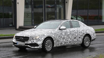 Latest 2016 Mercedes-Benz E-Class spy images reveal more of the front fascia