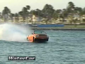 Amphibious Vehicle - WaterCar's Python Edition Going Fast
