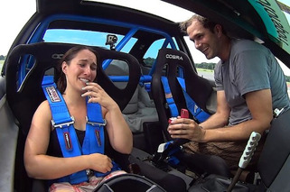 Auto-X Driver Proposes to Girlfriend in Epic Fashion [video]