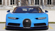 Bugatti Chiron shows up in the flesh [video]