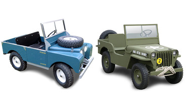 The Toylander is the Teeny Tiny Land Rover For Kids
