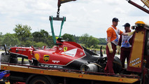 Raikkonen 'fine' after Silverstone rib pain