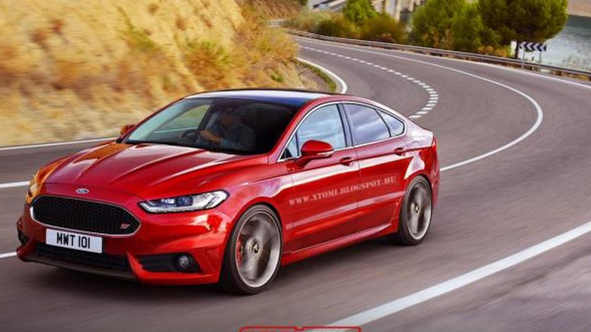 2015 ford mondeo receives virtual st treatment. Black Bedroom Furniture Sets. Home Design Ideas