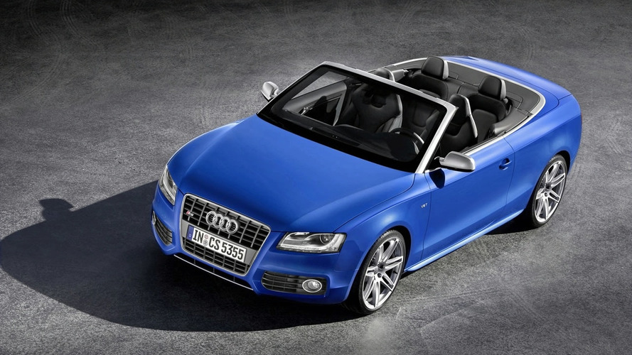 2010 Audi A5 / S5 Cabriolet Revealed