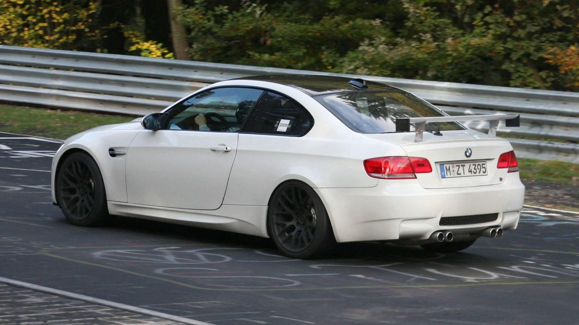 Mystery Hardcore BMW M3: Spy Video & More Photos