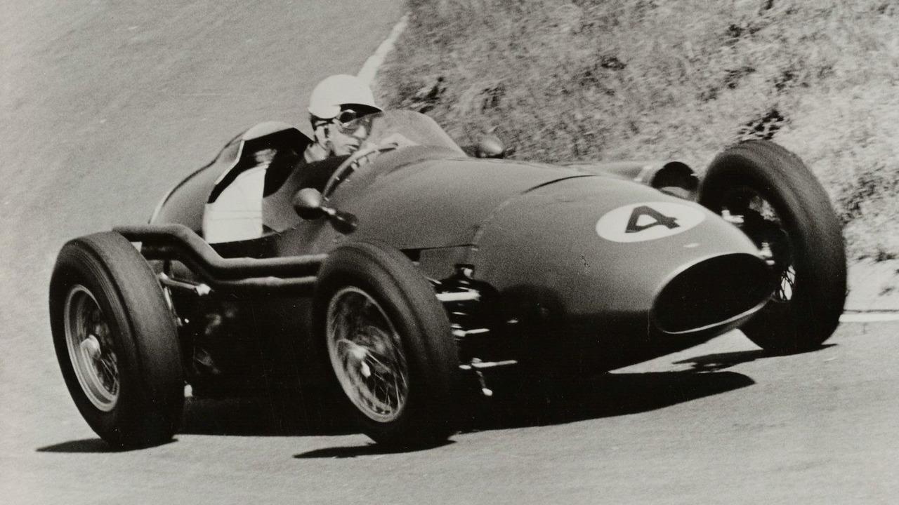 Aston Martin DBR4 1959 formula one race car